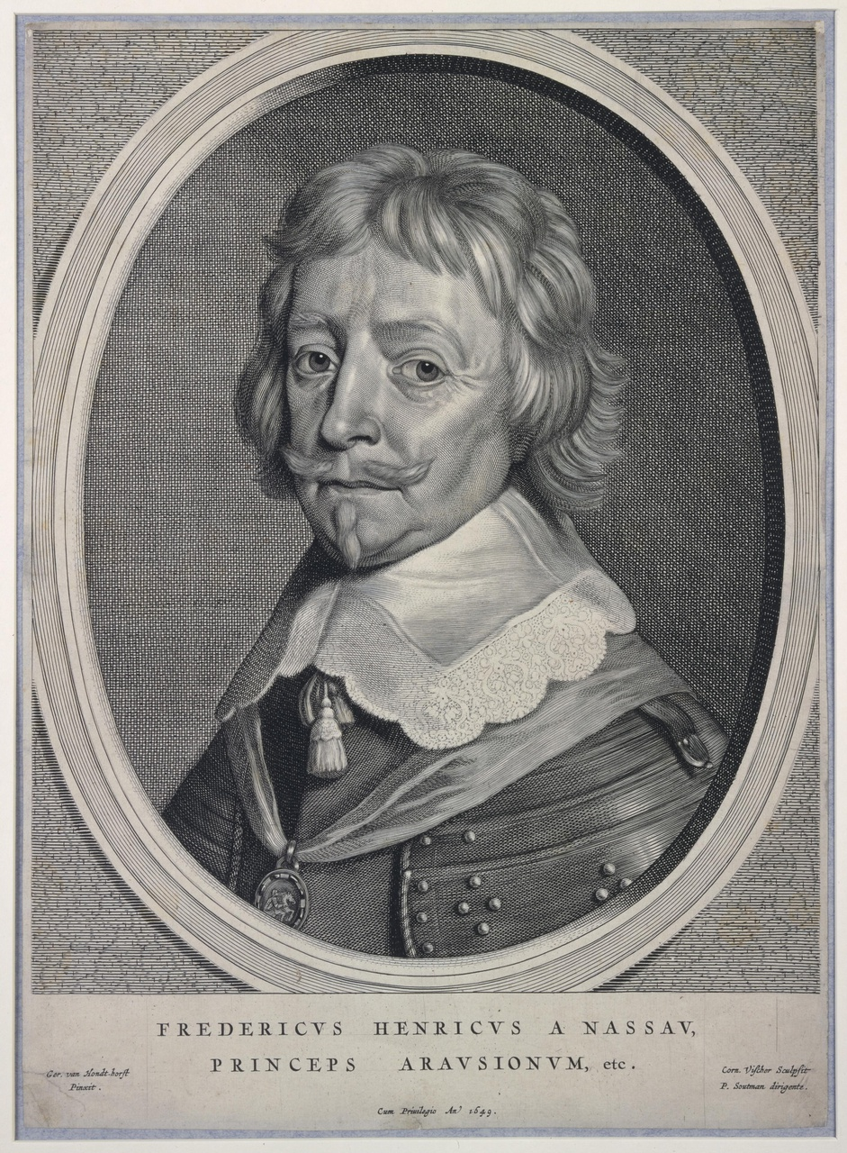 Portret van Frederik Hendrik (1584-1647)