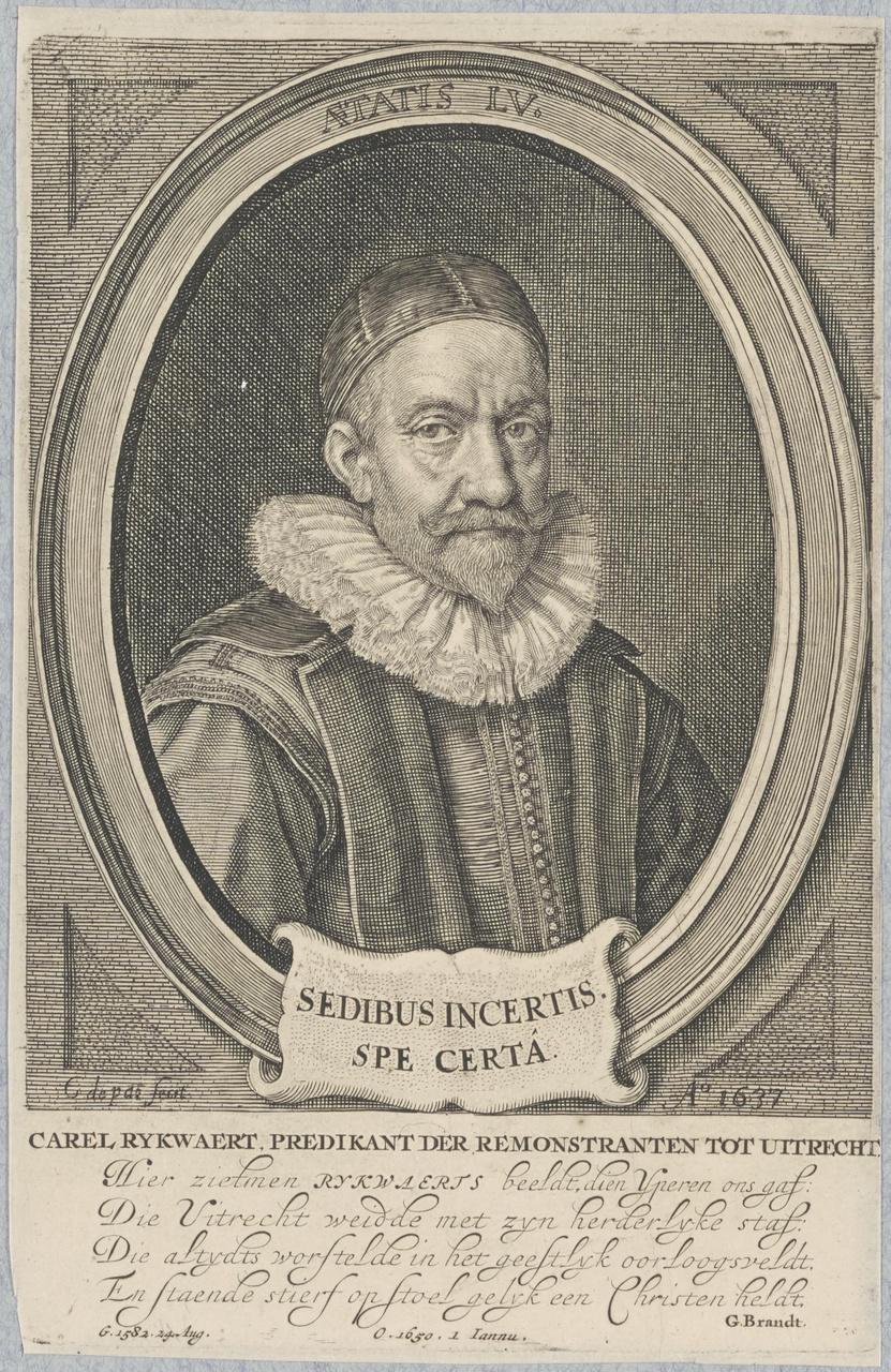 Portret van Carel Rijkwaert (1582-1650)