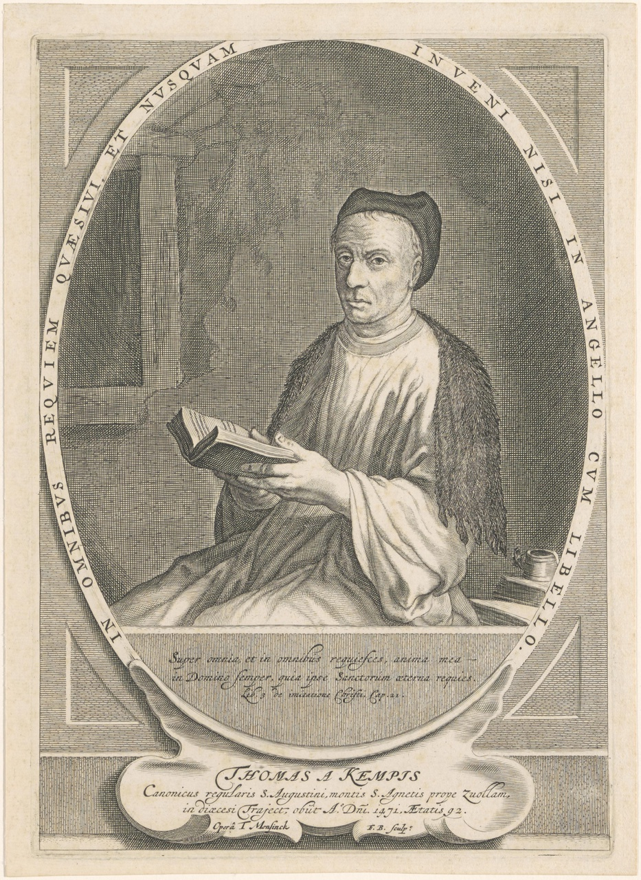 Portret van Thomas à Kempis