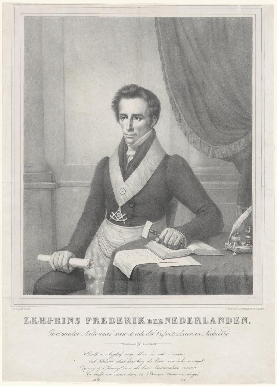 Portret van Willem Frederik Karel van Oranje-Nassau, Prins der Nederlanden (1797-1881)