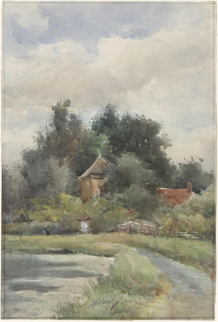 Landschap bij Woerden