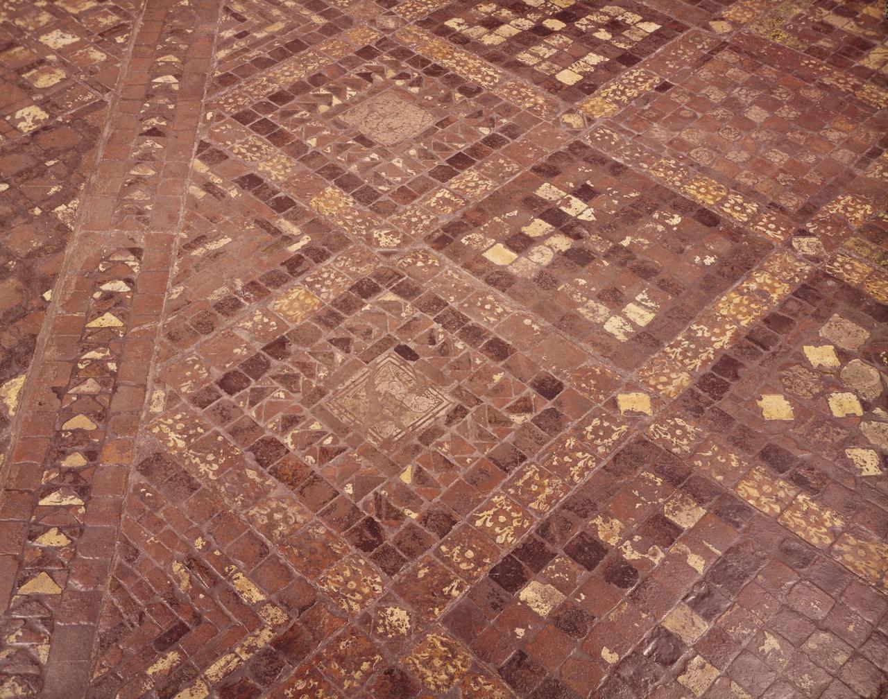 Fragment van een tegelvloer