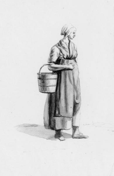 Vrouw met emmer