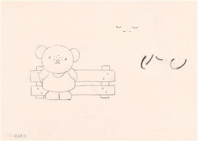 boris en barbara [barbara staat voor een hek, niet opgenomen in het kinderboek]