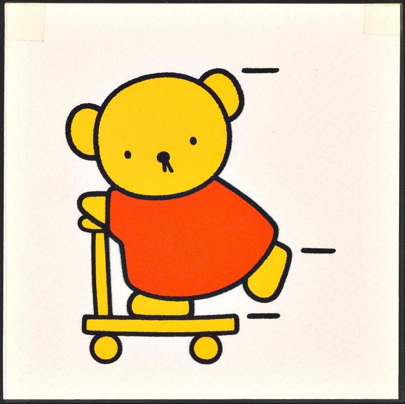 beertje in het bos [boris op zijn step; veel uit beertje in het bos is later gebruikt in het kinderboek boris en barbara]