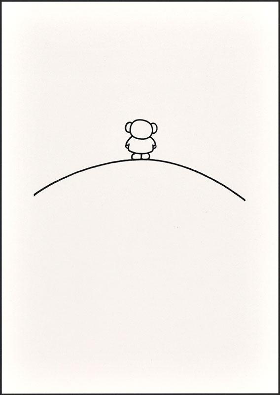 boris op de berg [boris (op zijn rug gezien) op de berg op p. 7]
