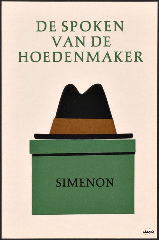 Simenon, Georges [De spoken van de hoedenmaker / Zwarte Beertjes 650]