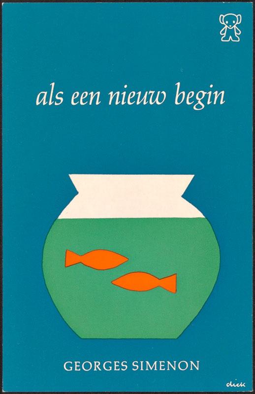 Simenon, Georges [Als een nieuw begin / Zwarte Beertjes 883]