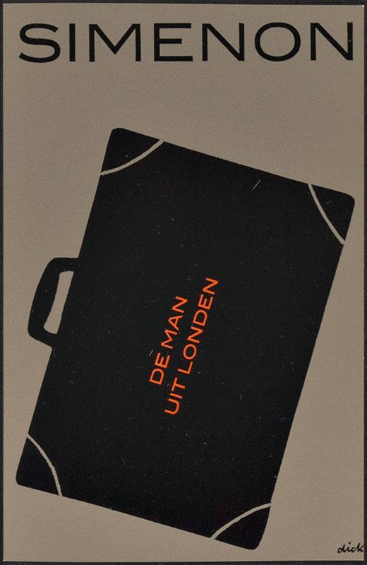 Simenon, Georges [De man uit Londen / Zwarte Beertjes 1363]
