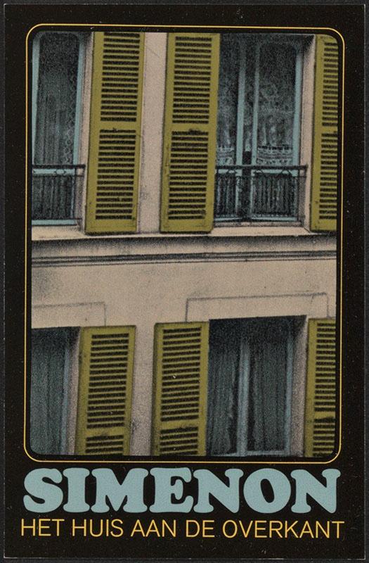 Simenon, Georges [Het huis aan de overkant / Zwarte Beertjes 1543]