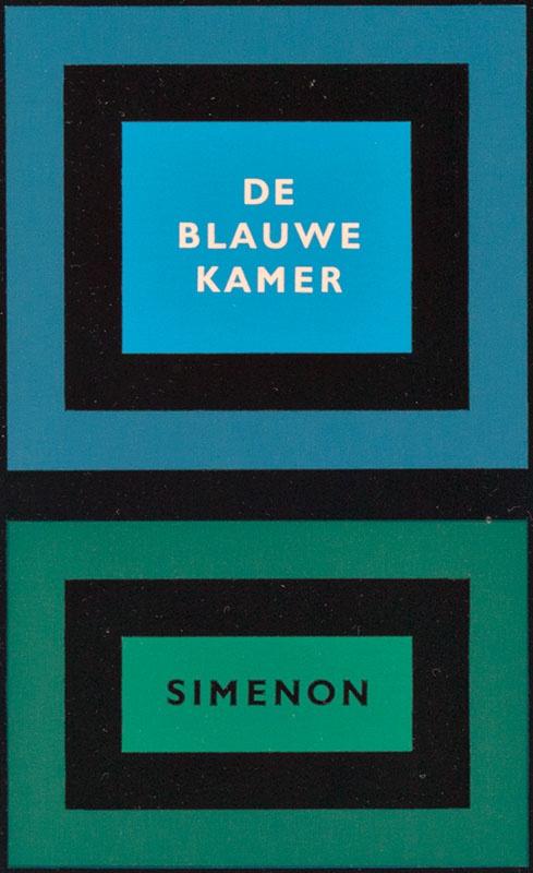 Simenon, Georges [De blauwe kamer / Zwarte beertjes 791]