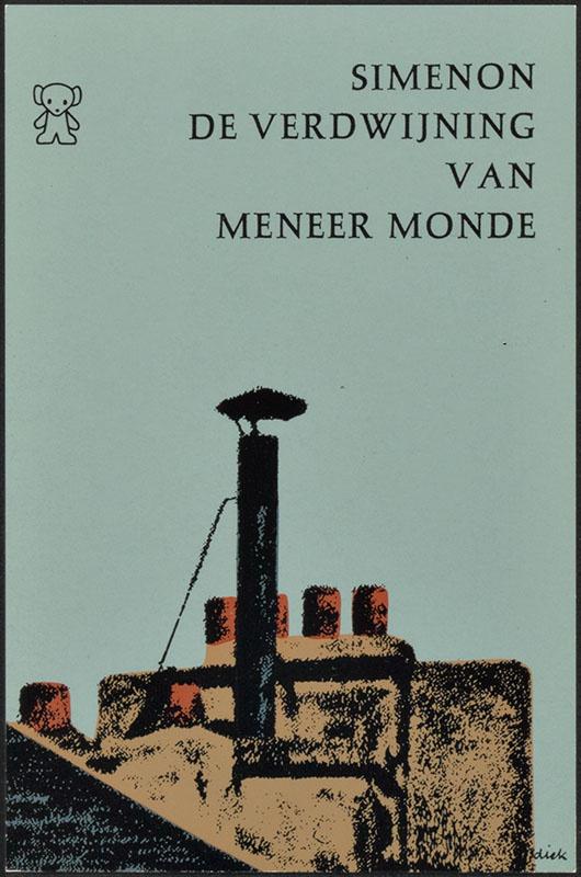 Simenon, Georges [De verdwijning van meneer Monde / Zwarte Beertjes 1124]
