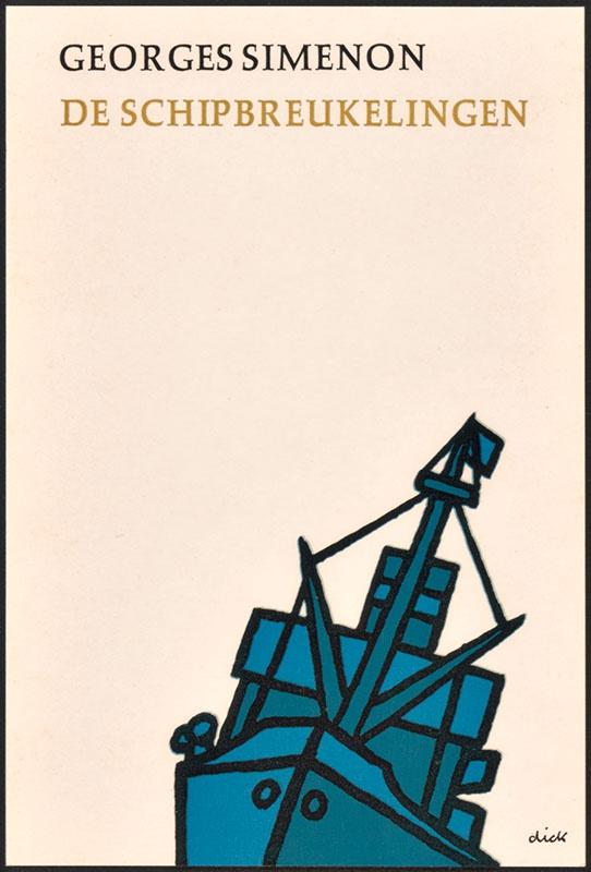 Simenon, Georges [De schipbreukelingen / Zwarte Beertjes 1103]