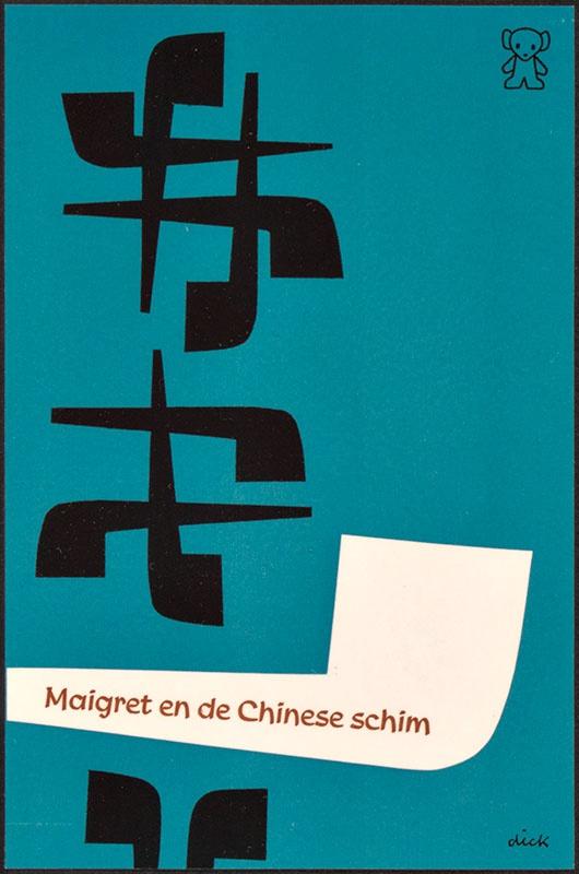 Simenon, Georges [Maigret en de Chinese schim / Zwarte Beertjes 848 ]