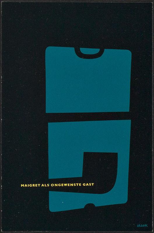 Simenon, Georges [Maigret als ongewenste gast / Zwarte Beertjes 1137]