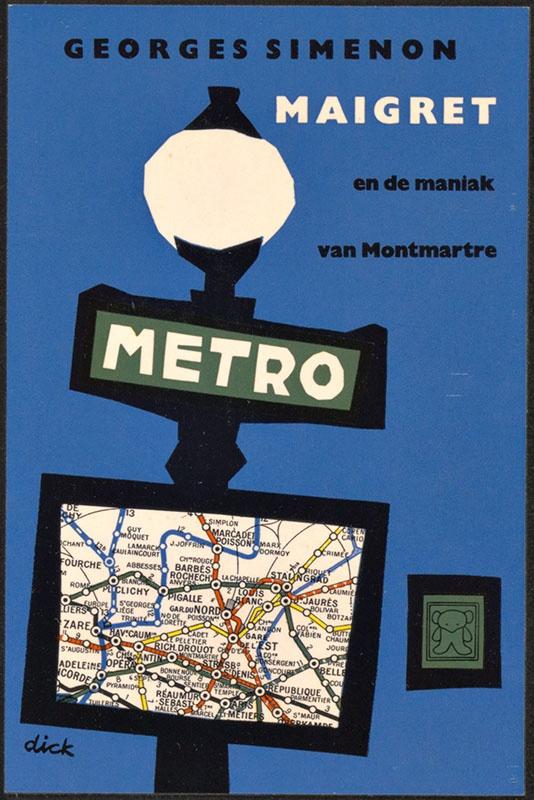 Simenon, Georges [Maigret en de maniak van Montmartre / Zwarte Beertjes 118]