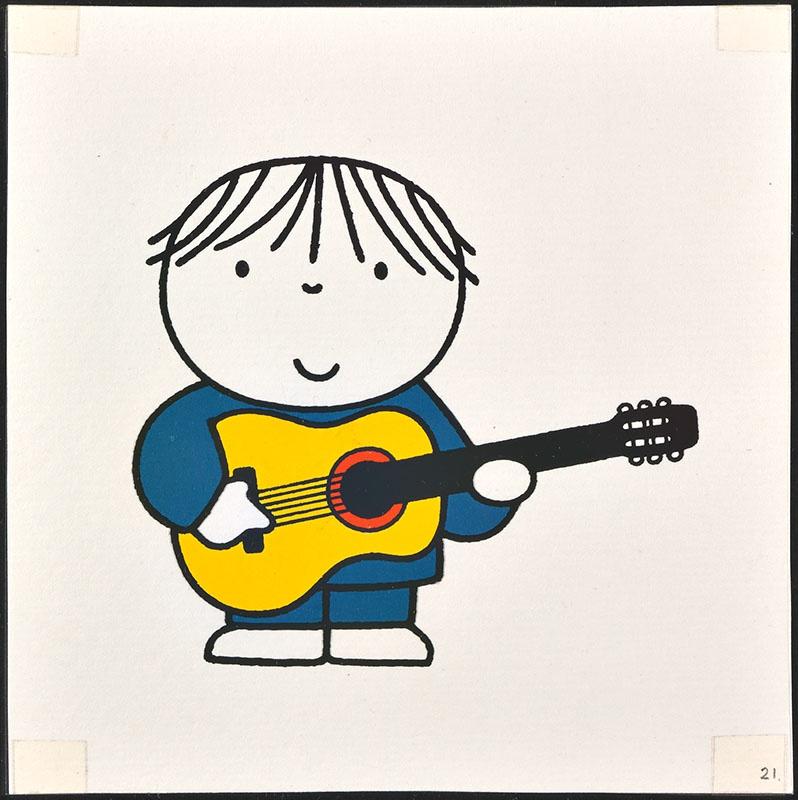 het orkest [eerdere versie van het kinderboek: wij hebben een orkest; met de gitarist op p. 21 en tekst op p. 22, niet uitgegeven]