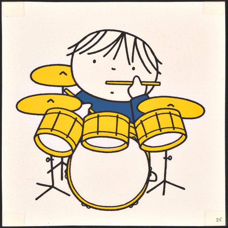 het orkest [eerdere versie van het kinderboek: wij hebben een orkest; met de drummer op p. 25 en tekst op p. 26, niet uitgegeven]