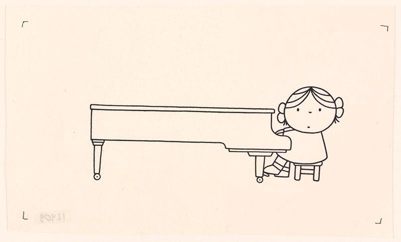 wij hebben een orkest [pia speelt piano op p. 18 en p. 19]
