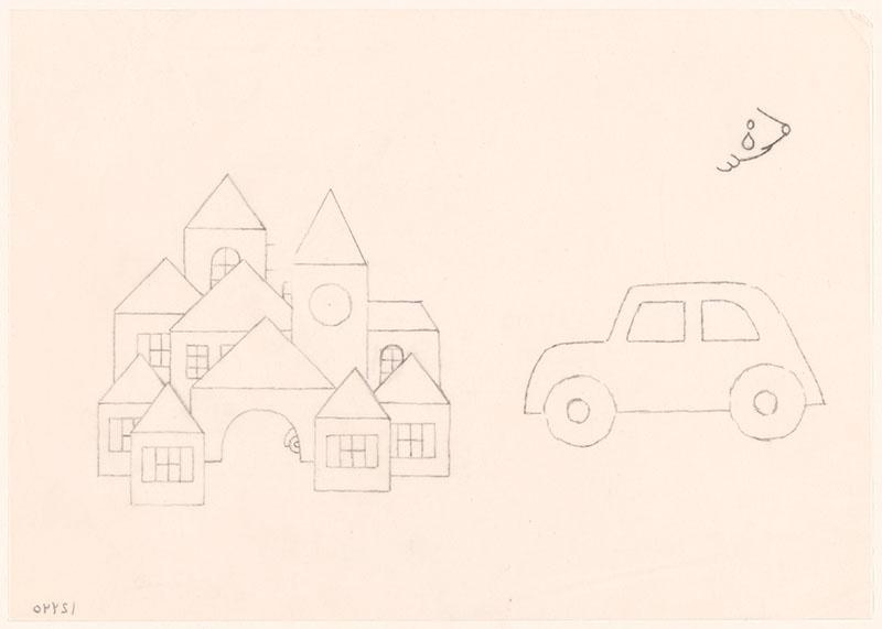 eegje egel [eegje egel met traan op het schutblad; stad en auto niet opgenomen in het kinderboek]