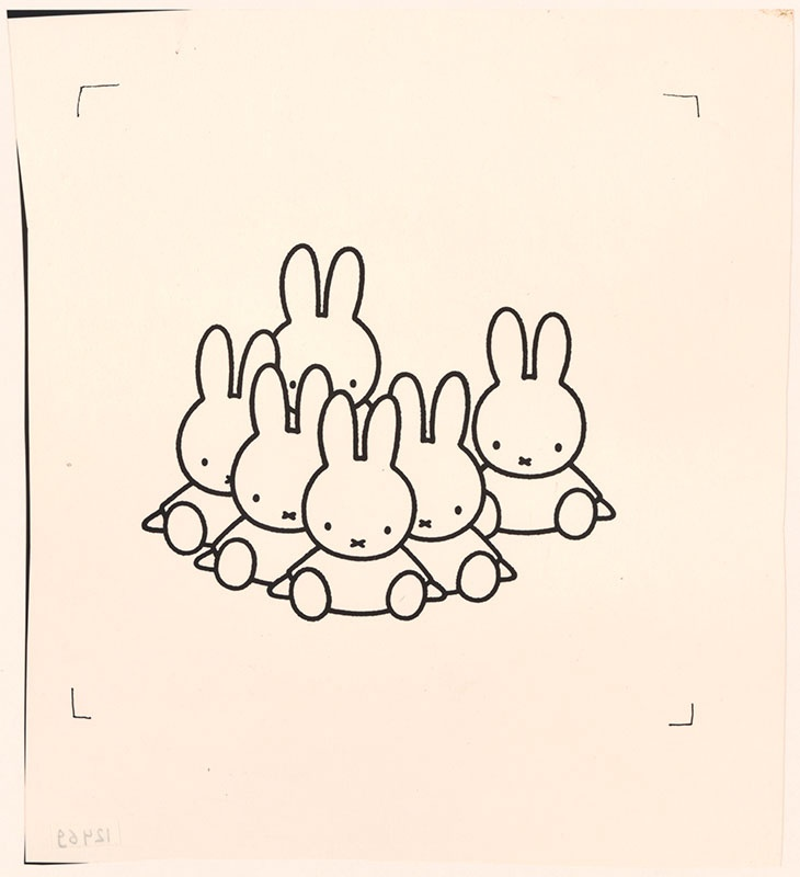 nijntje op school [konijnen zitten op de grond op p. 27]