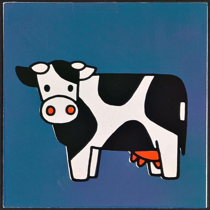 boe zegt de koe [koe op p. 11; tekst op p. 12]
