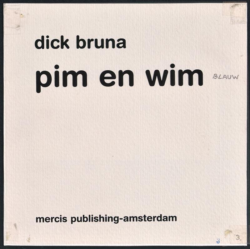 pim en wim [tekst op het titelblad, tekst op p. 4]