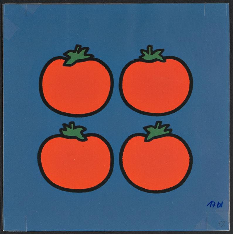 boris doet de boodschappen [vier tomaten op p. 17 en tekst op p. 18]