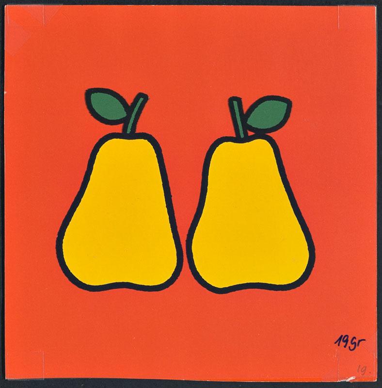 boris doet de boodschappen [twee peren op p. 19 en tekst op p. 20]
