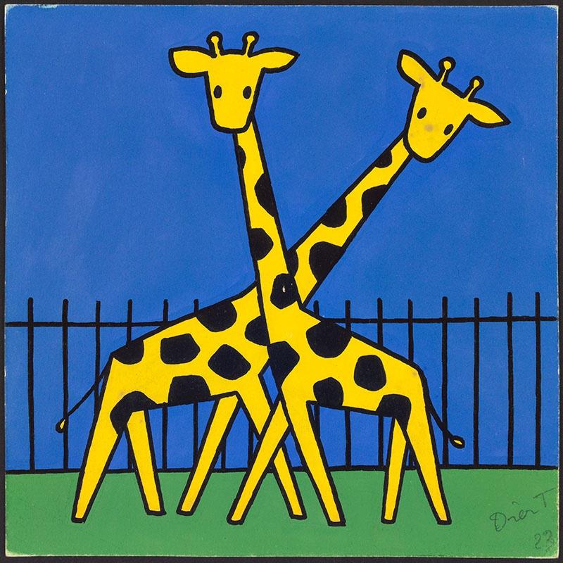 nijntje in de dierentuin [1963, p. 23, 24]