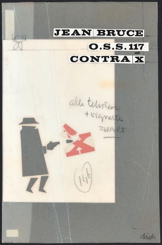 Bruce, Jean [O.S.S. 117 contra X / Zwarte Beertjes 1011]