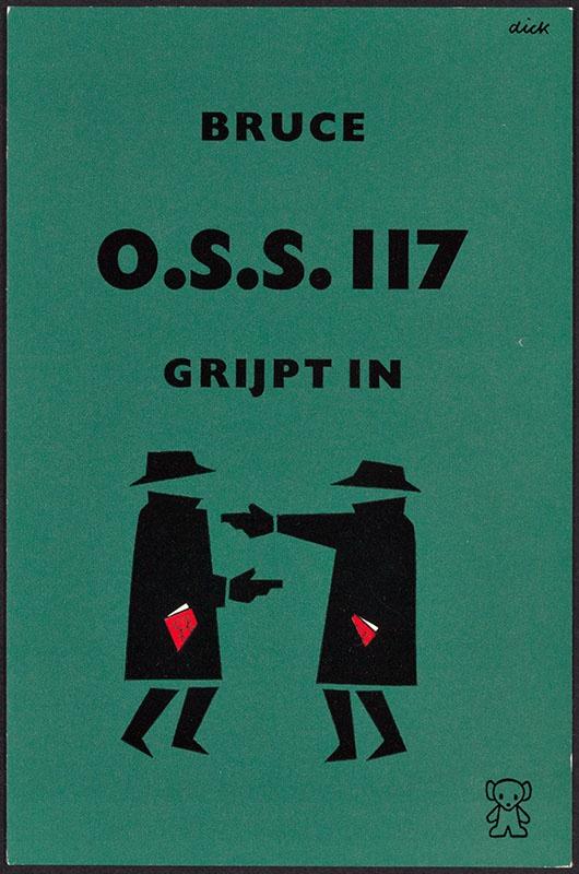 Bruce, Jean [O.S.S. 117 grijpt in / Zwarte Beertjes 641]