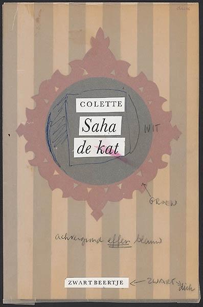 Colette [Saha de kat / Zwarte Beertjes 785]
