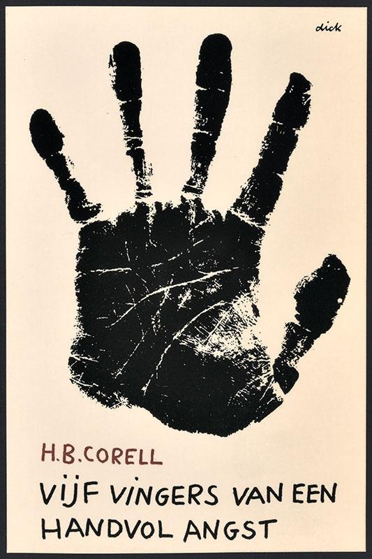 Corell,  H.B. [Vijf vingers van een handvol angst / Zwarte Beertjes 1315]