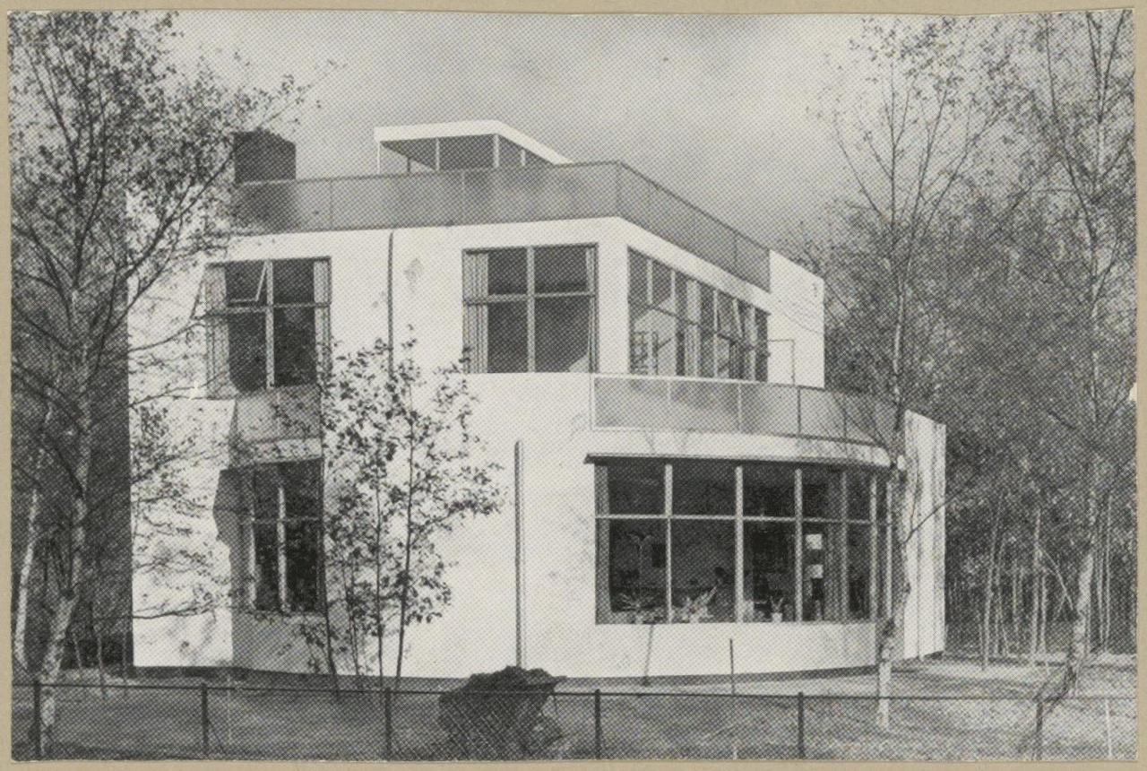 Afbeelding van woning Mees in de bocht, ca.1936