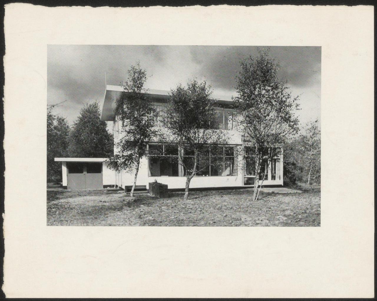 Afbeelding van aanzicht woning Smedes, ca.1936