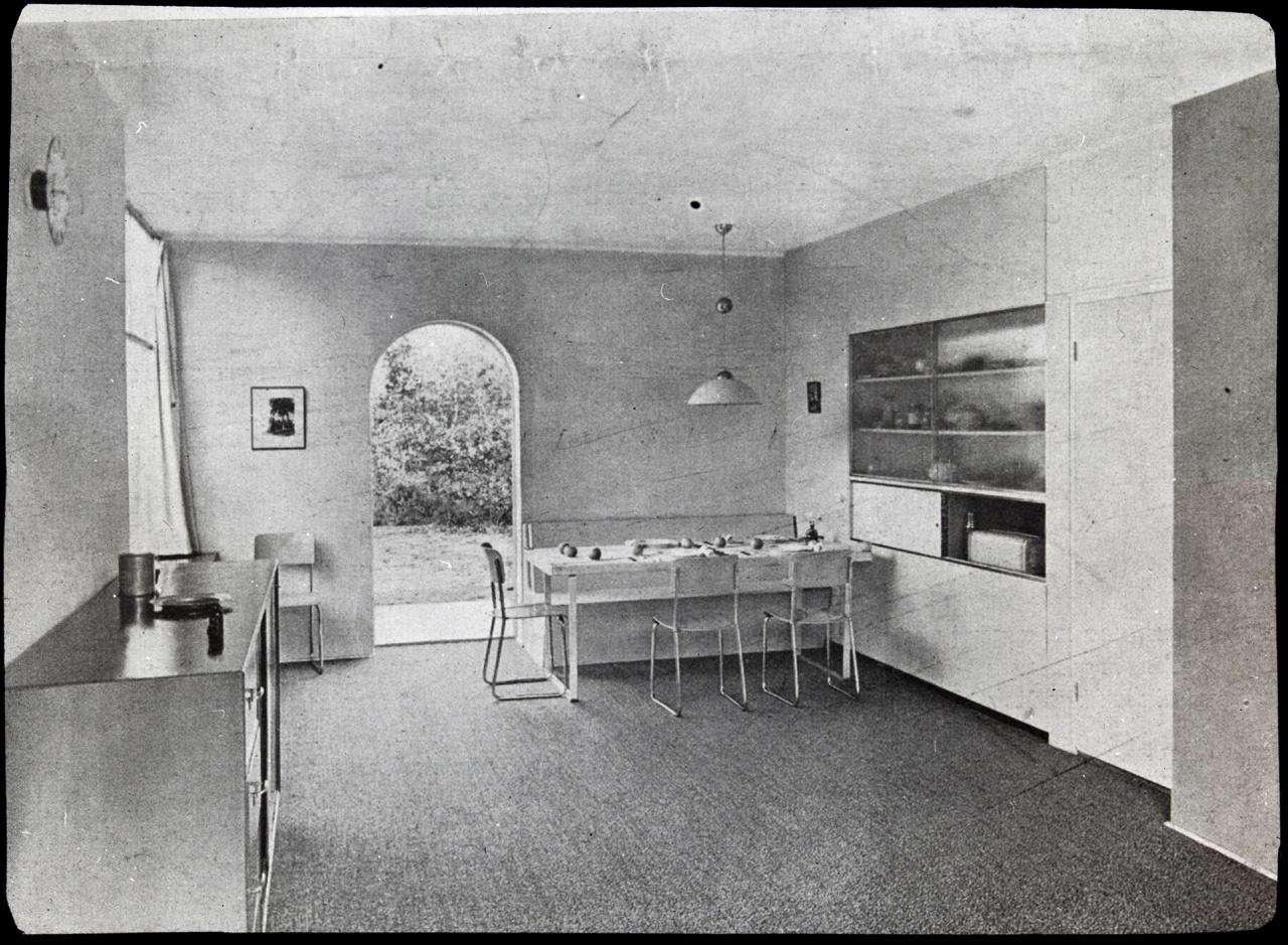 Afbeelding van woning Smedes, interieur naar eethoek, ca.1936