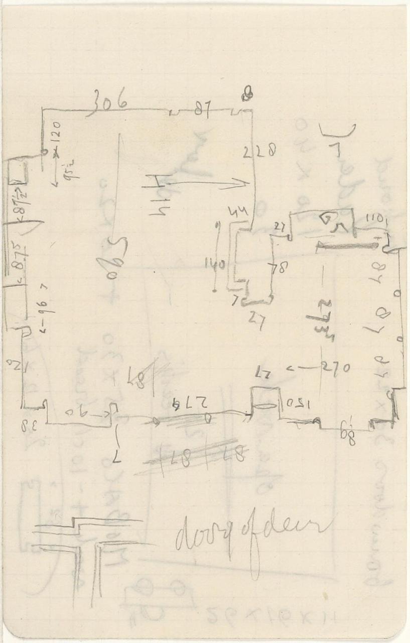 Documentatie over verbouwing L. van Leer Hilversum 1929-1930