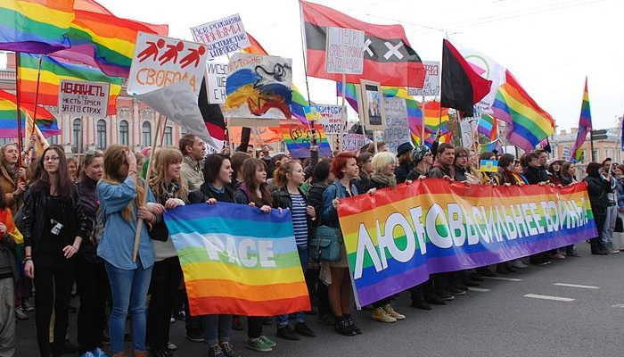 Protesten in Rusland foto door InkBob.jpg