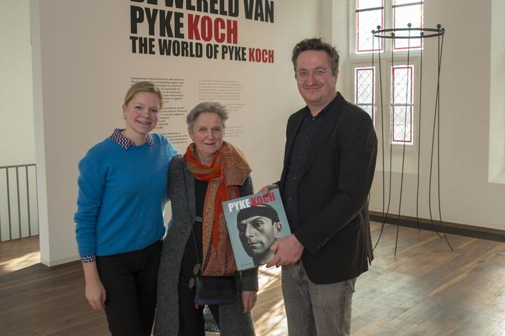 50.000e bezoeker Pyke Koch tentoonstelling