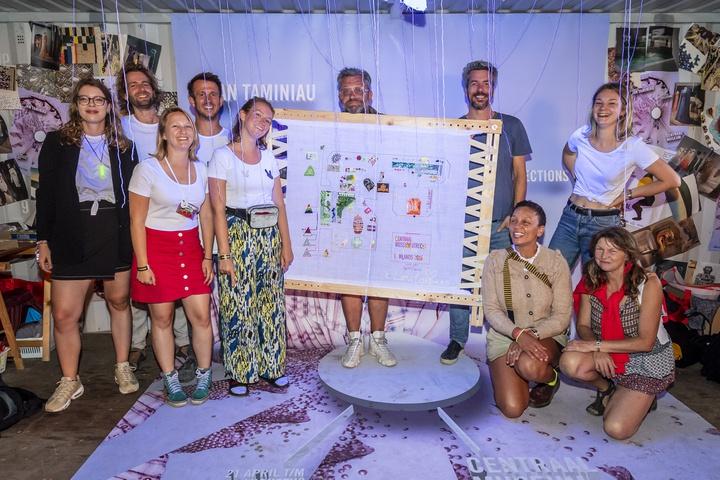 Borduurworkshop op Lowlands groot succes