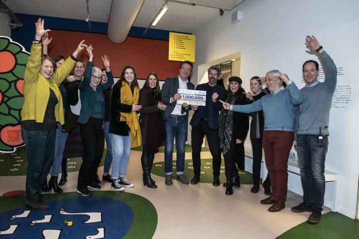 Centraal Museum ontvangt €1.000.000 BankGiro Loterij