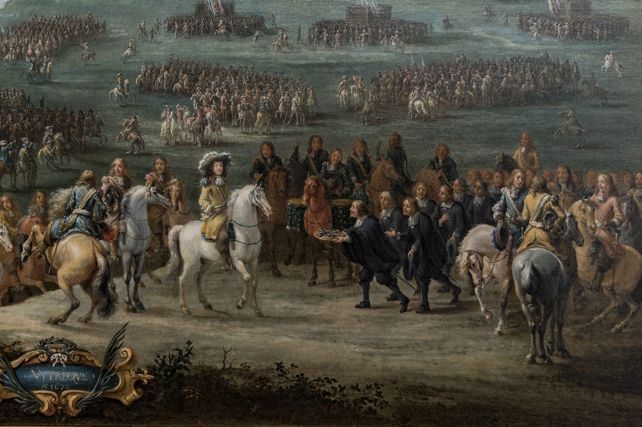 Lambert de Hondt II, De overgave van Utrecht in 1672 (detail), Centraal Museum Utrecht