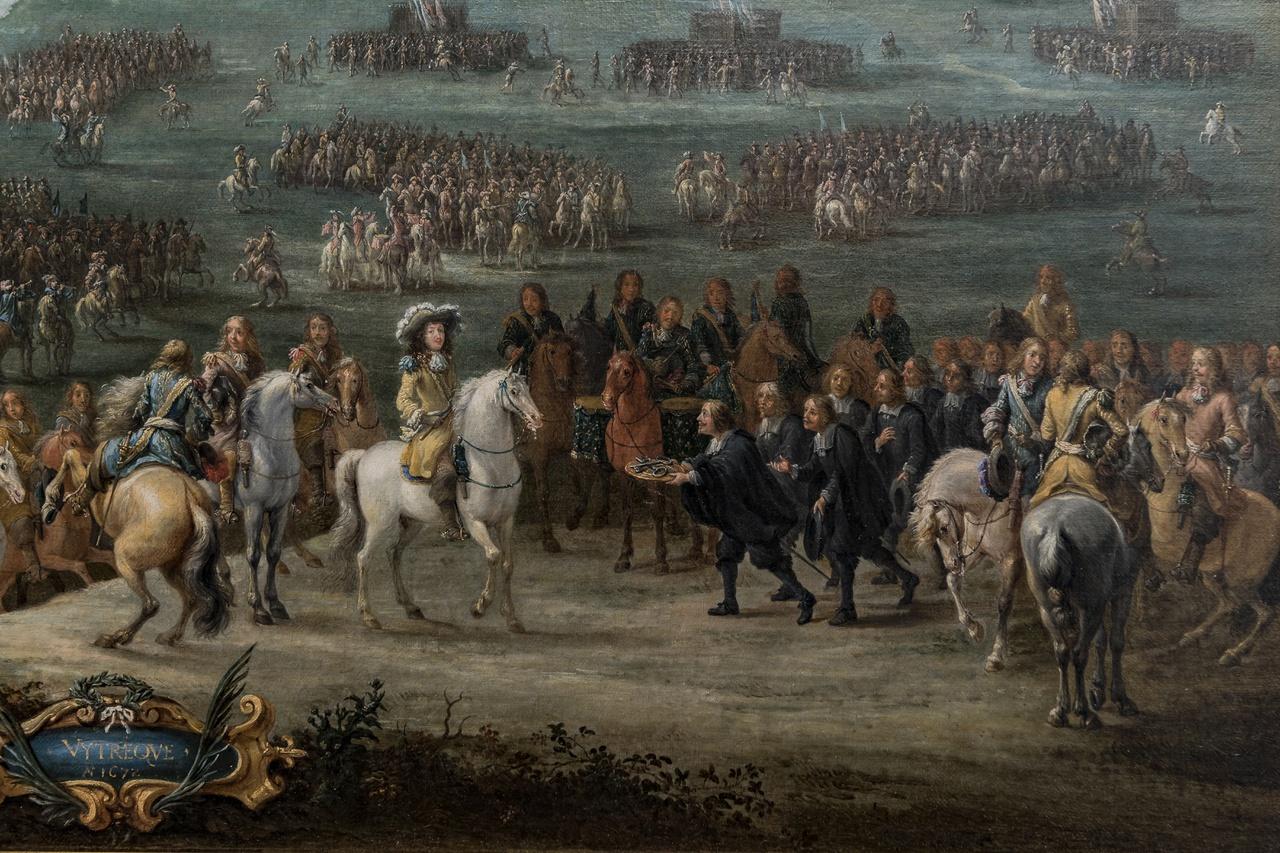 2/2 - Lambert de Hondt II, De overgave van Utrecht in 1672 (detail), Centraal Museum Utrecht