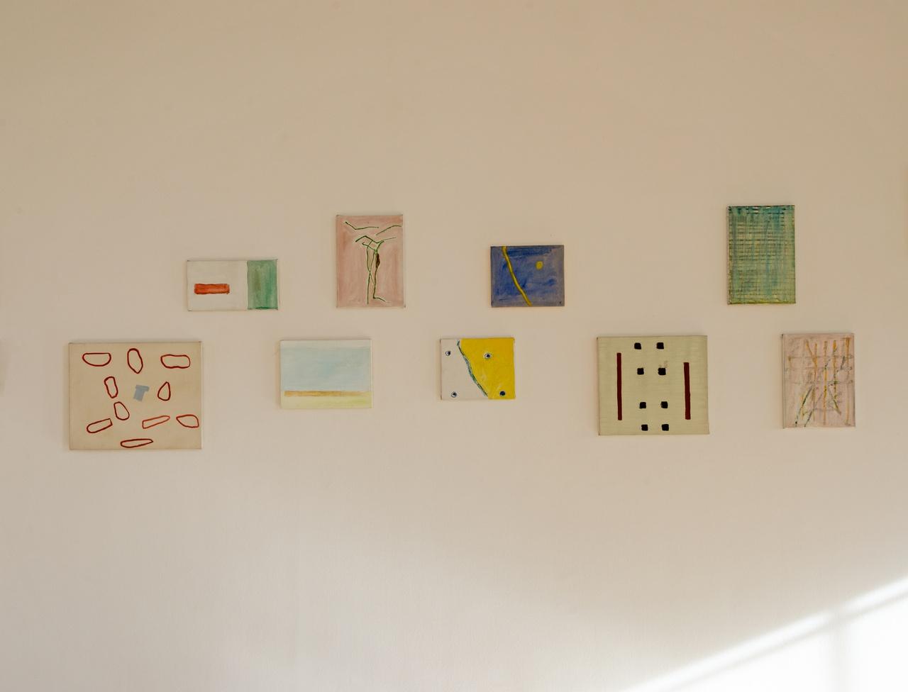 2/6 - Raoul de Keyser, tentoonstelling Paintings 1967-2012 bij Inverleith House, Edinburgh, 2015.