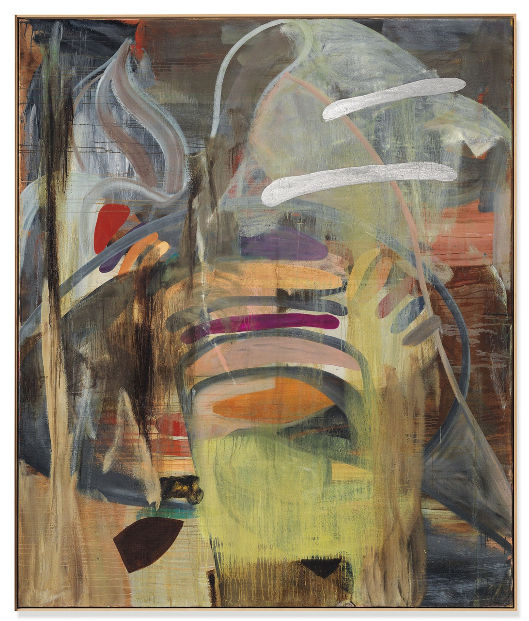 3/6 - Albert Oehlen, Untitled, 1989, privécollectie. Foto: Christie's.