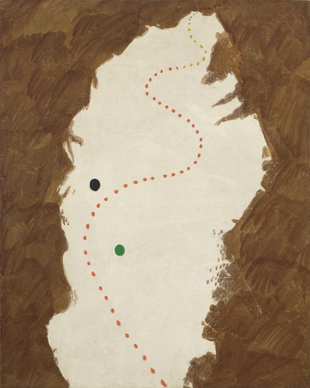 4/6 - Joan Miró, Peinture, 1927. Foto: Christie's.