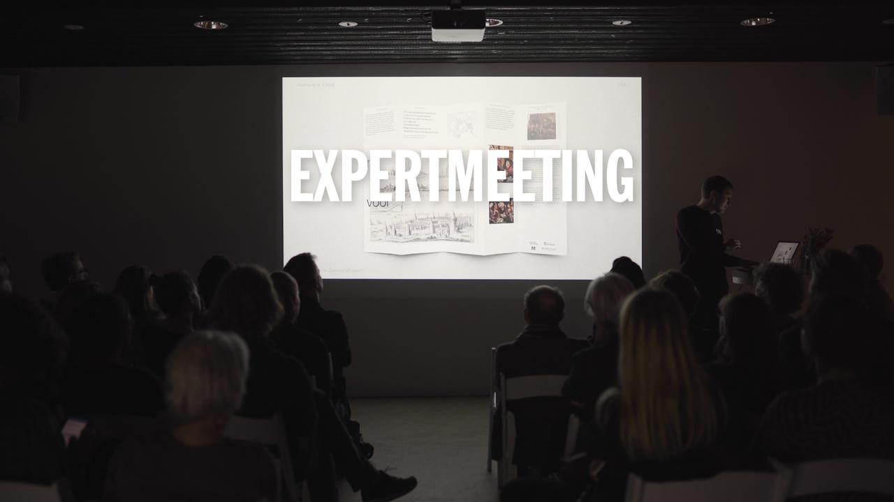 1/7 - Expertmeeting Tentoonstellingsvormgeving in het Centraal Museum. Presentatie Toon Koehorst.