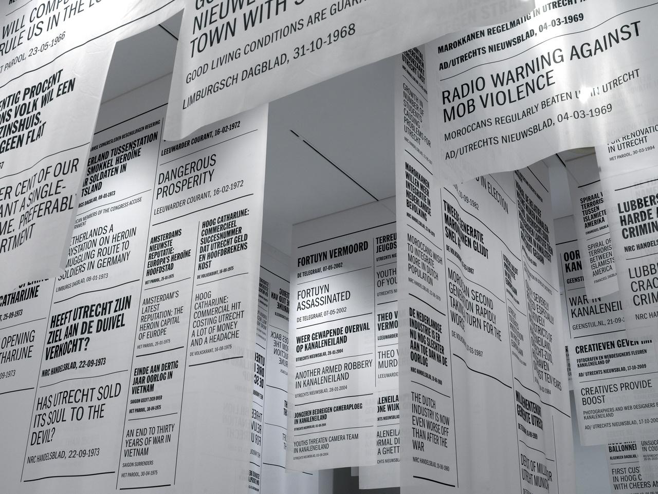 2/7 - Tentoonstelling Dromen in beton (2019), vormgegeven door DeVrijerVanDongen.