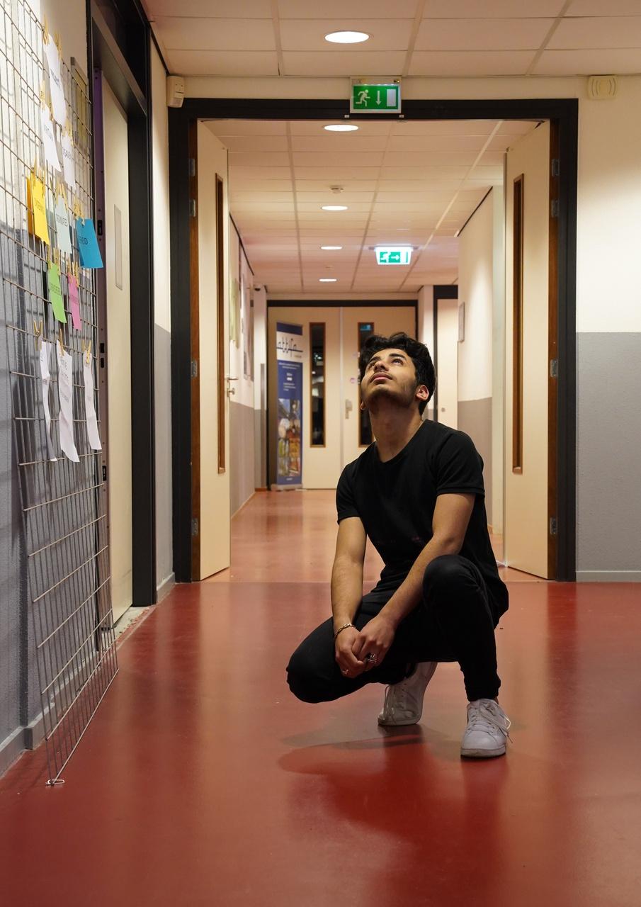 9/13 - Ayham Aladeeb, ROC Midden Nederland Dienstverlening Zorg en Welzijn, Overvecht. 'I am going to the top. No one can stop me. Nobody.'